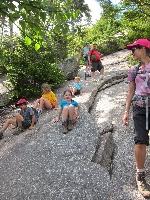 kids_steep_rock